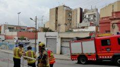 Desalojan en Badalona (Barcelona) 14 fincas junto a un edificio deteriorado @EP