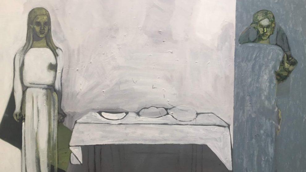 Obra de Isabel Baquedano en la exposición del Museo de Bellas Artes de Bilbao.
