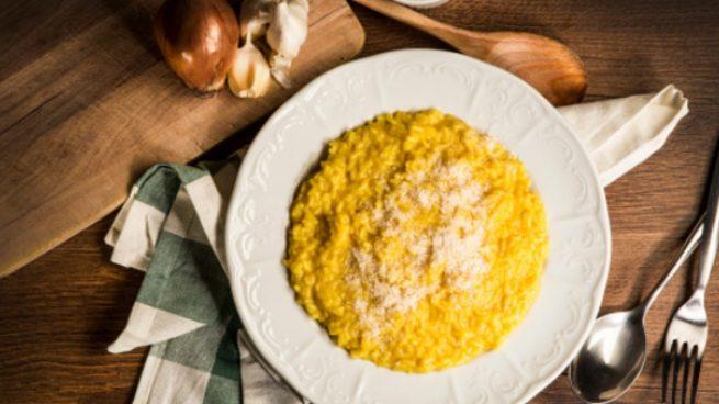 Risotto crujiente, receta de arroz fácil de preparar