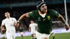 Sudafrica gana el Mundial de Rugby en Japón. (AFP)