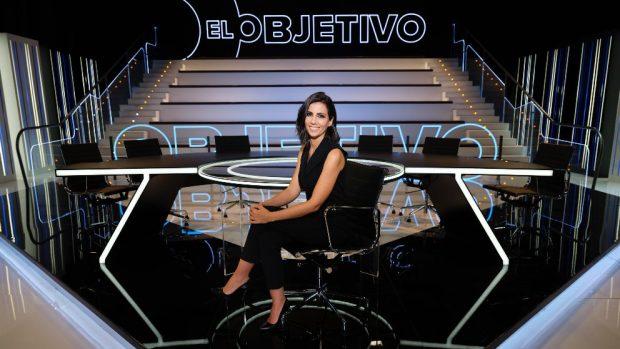 Programación TV: Ana Pastor en el plató de 'El objetivo'