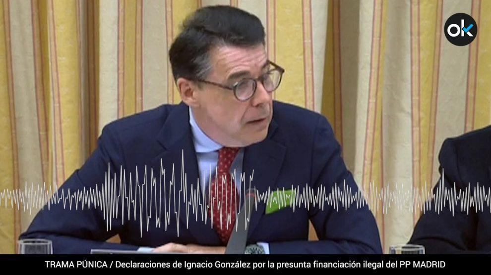 Declaración de Ignacio González ante Manuel García-Castellón.