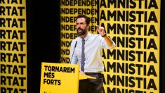 Roger Torrent en un acto de campaña @Getty
