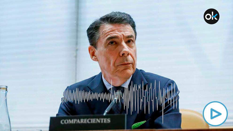 Audios de Ignacio González en su declaración ante el juez del 'caso Púnica'.