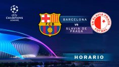 Barcelona – Slavia de Praga: Horario y cómo ver por televisión el partido de la Champions League.