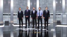 Los candidatos del debate de la Academia de la TV.