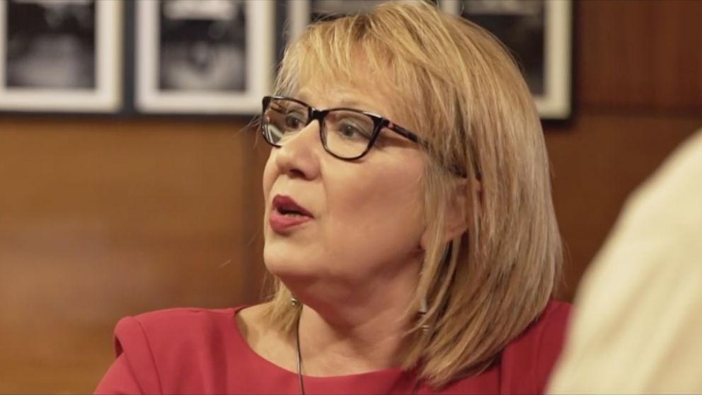 Trinidad Castelló, diputada del PSOE en las Cortes Valencianas, durante su entrevista en 'Salvados'.