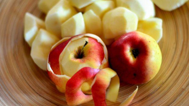 Una fruta oxidada