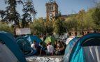 Colau ordena desalojar la acampada independentista en Plaza Universidad