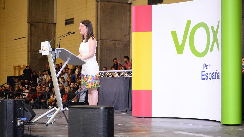 Ana Vega de Vox (Foto: EP)