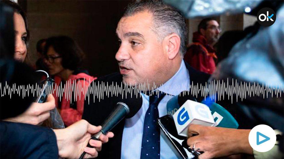 El secretario de Organización de Ciudadanos en Galicia, Laureano Bermejo.