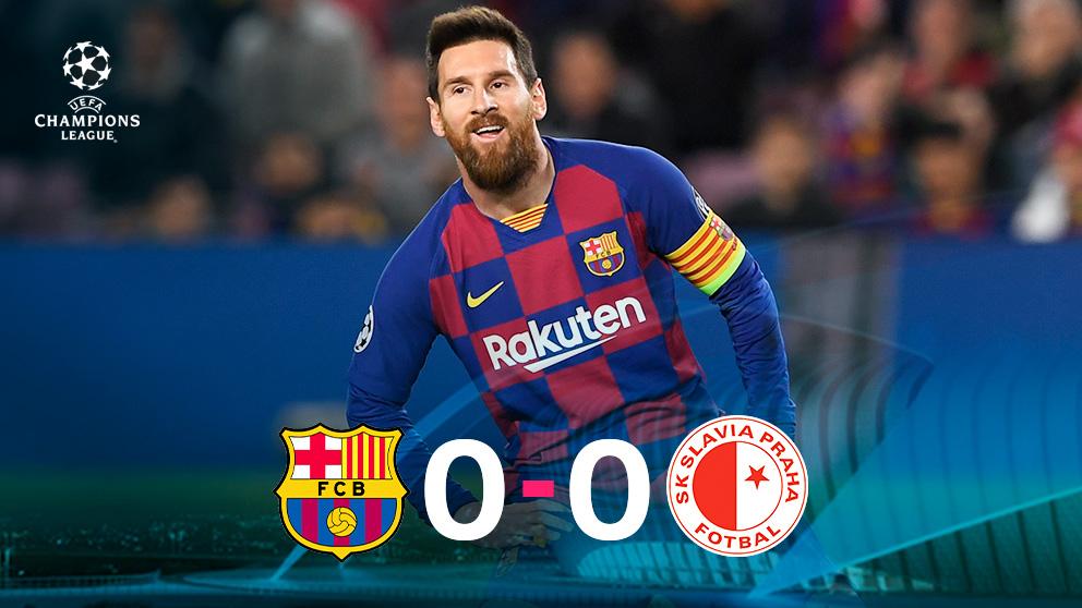 Leo Messi no pudo hacer las diferencias para el Barça.