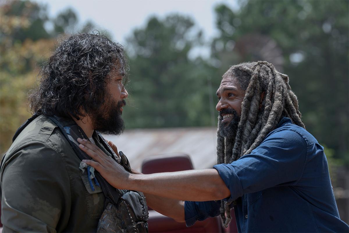 Ezekiel podría morir en The Walking Dead