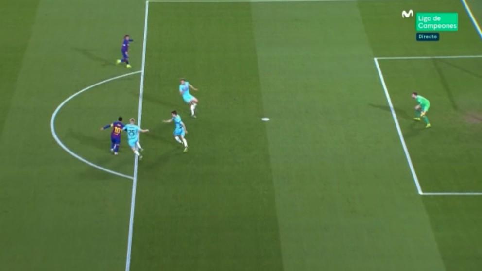 Griezmann supo lo que es que Messi le ignore.
