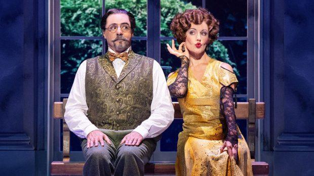 Javier Navares y Silvia Luchetti son Vlad y la Condesa Lily en 'Anastasia, el musical'.