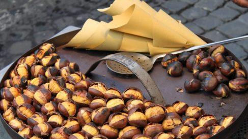 Las castañas son las grandes protagonistas del Magosto de Ourense