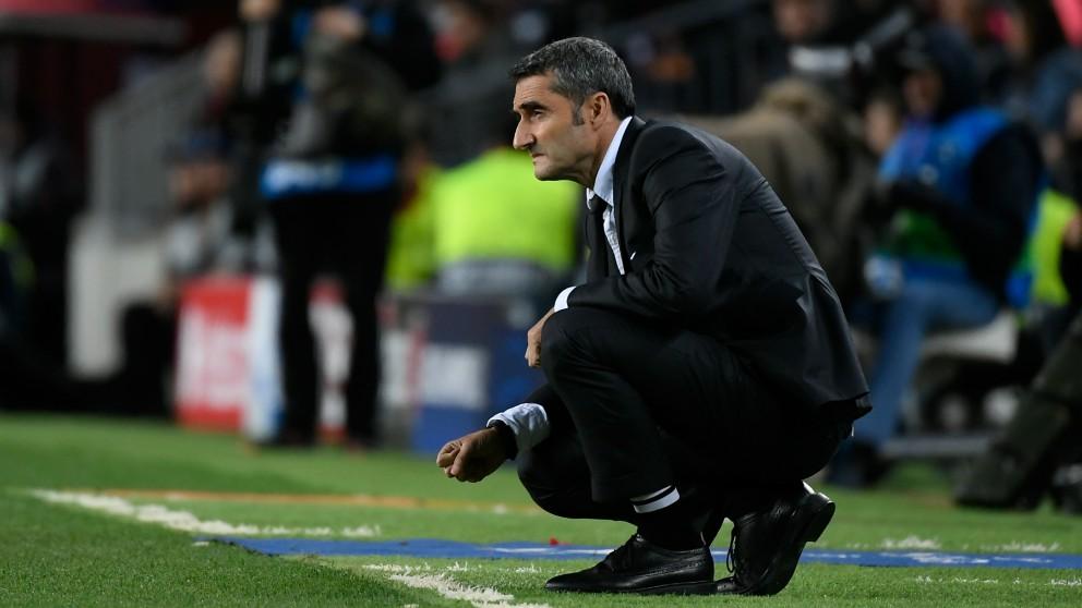 Valverde, en el foco de las críticas.