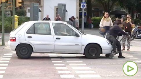 Atropello viral en Mallorca.