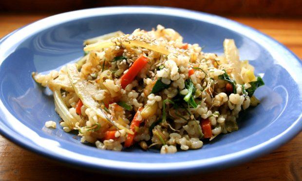 Cenar pasta y arroz