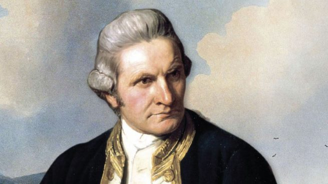 viajes de James Cook