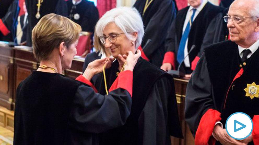 María José Segarra, fiscal general del Estado. (Foto: EFE)