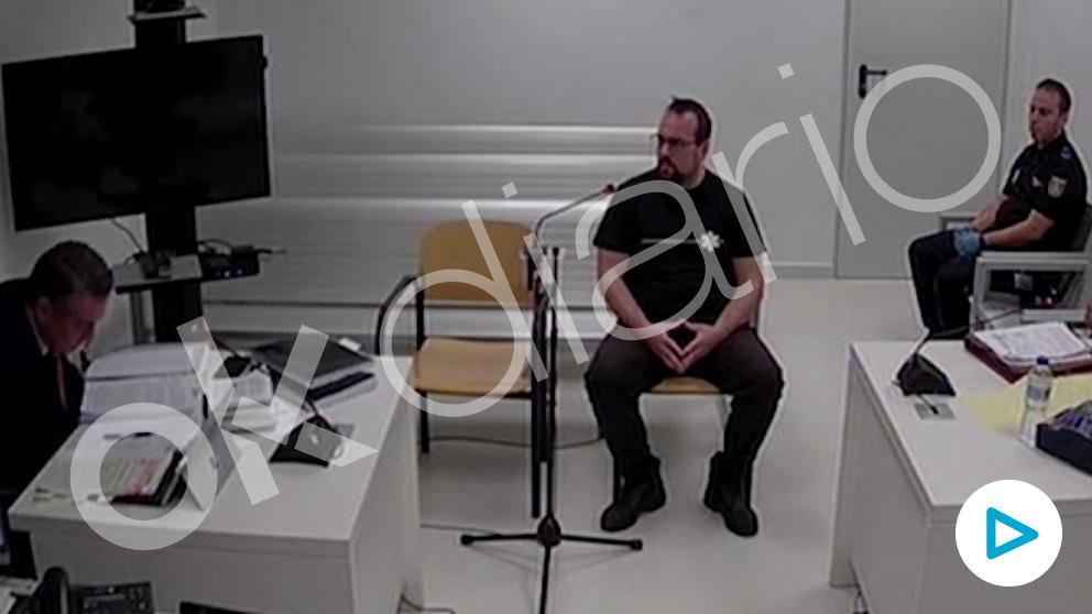 Ferrán Jolis, uno de los CDR detenidos, en su declaración.