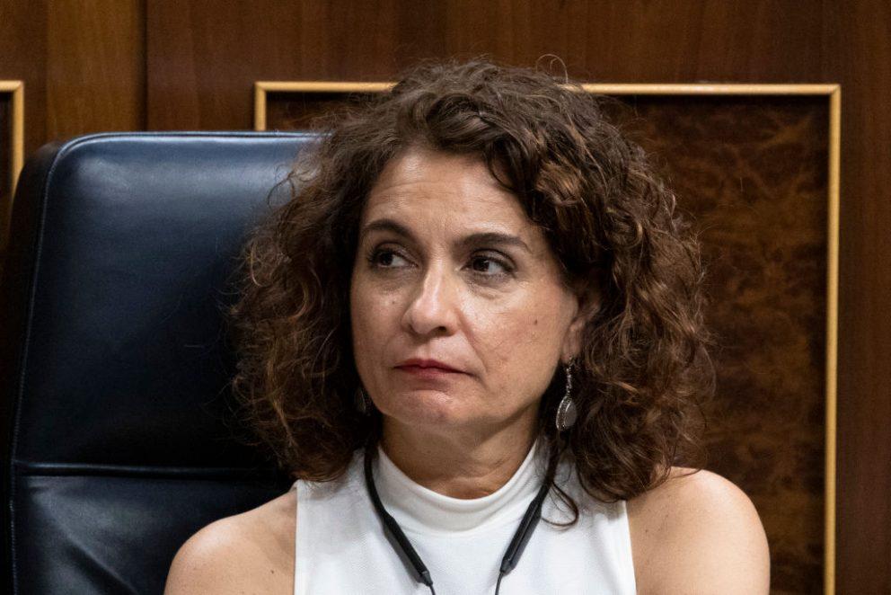 María Jesús Montero, ministra de Hacienda. @Getty