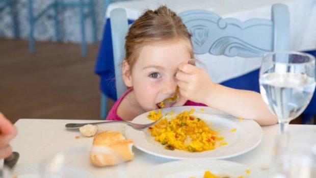 Menú semanal para niños de 1 a 3 años