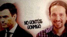 Cartel de la campaña «Yo no voto».