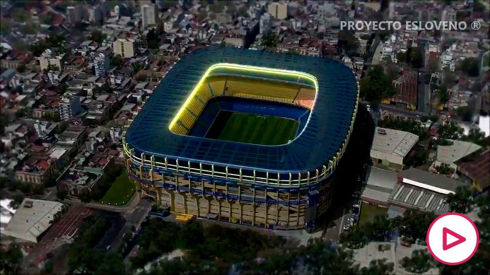 El estadio de Boca Juniors se convertirá en un instalación del siglo 21.