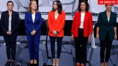 Debate La Sexta: Sigue en directo el debate electoral de las mujeres