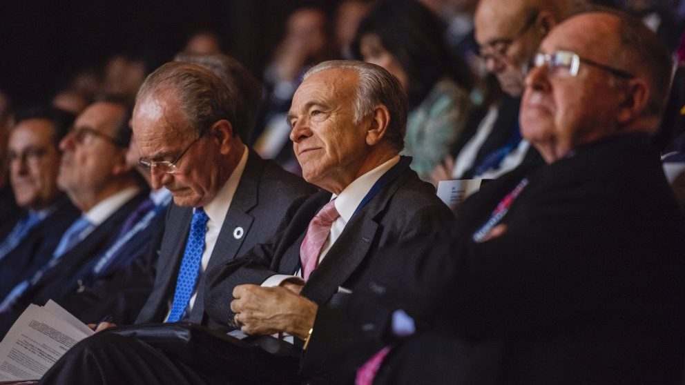 Isidro Fainé en el Congreso CEDE Málaga