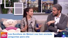 Melani preparada para 'Eurovisión Junior 2019'