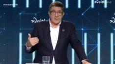 Patxi López en el debate electoral