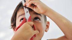 Descubre porqué a los niños les gusta cortarse el pelo a sí mismos