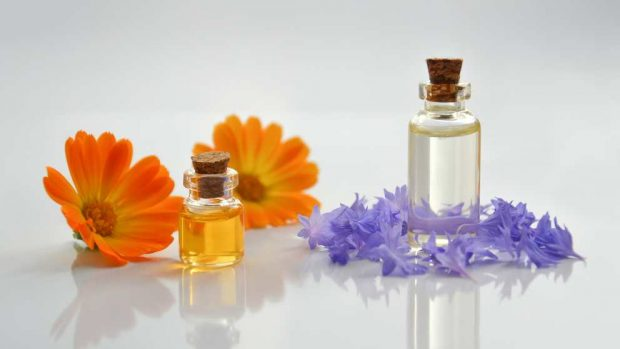 Propiedades de aceite aromático
