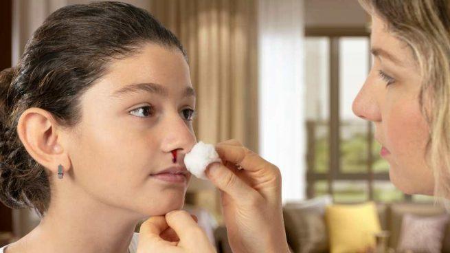 Hemorragia nasal en niños