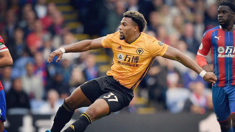 Adama Traoré con el Wolverhampton (@AdamaTrd37)