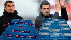 Barcelona y Celta se enfrentan en el Camp Nou.