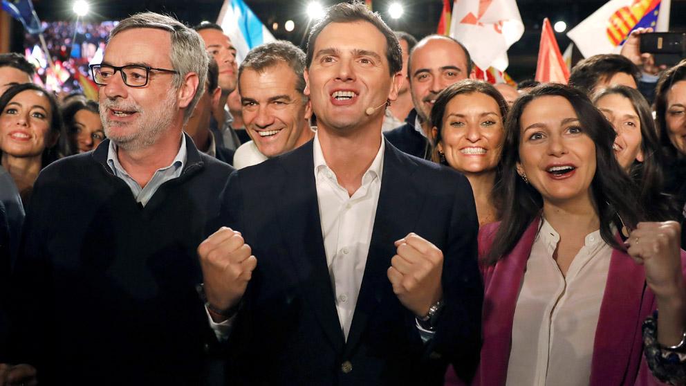 Acto de cierre de campaña de Ciudadanos (Foto: EFE)
