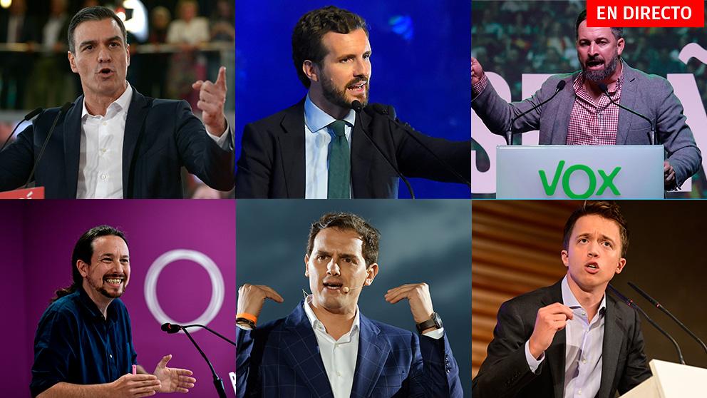 Elecciones generales 10N: Cierre de la campaña electoral, en directo