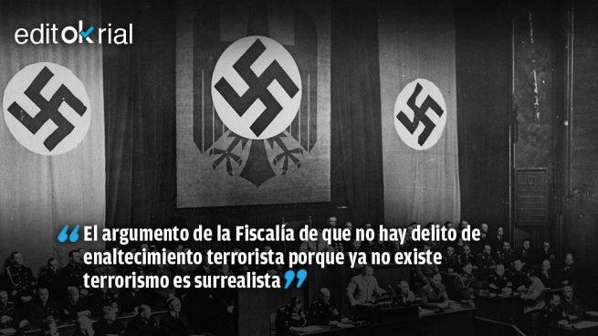 También está muerto Hitler y en Alemania es delito enaltecer el nazismo