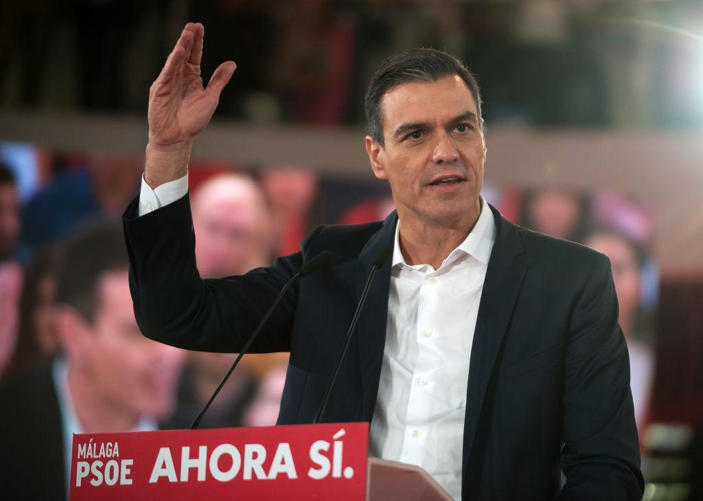 Pedro Sánchez, presidente del Gobierno en funciones @Getty
