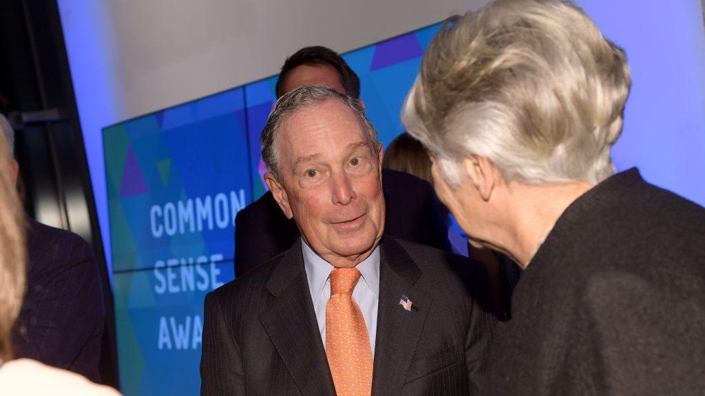 Michael Bloomberg, ex alcalde de NY @Getty
