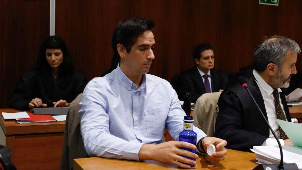Rodrigo Lanza en el juicio @Getty