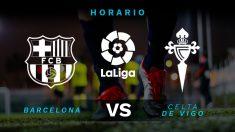 Liga Santander 2019-2020: Barcelona – Celta | Horario del partido de fútbol de Liga Santander.