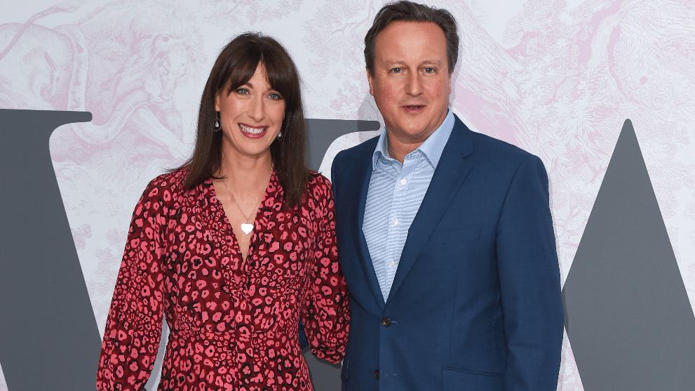 Samantha y David Cameron @Getty