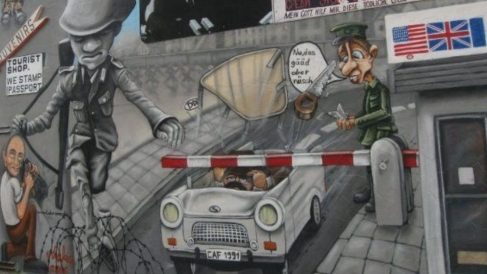 Las 4 fugas más famosas del muro de Berlín
