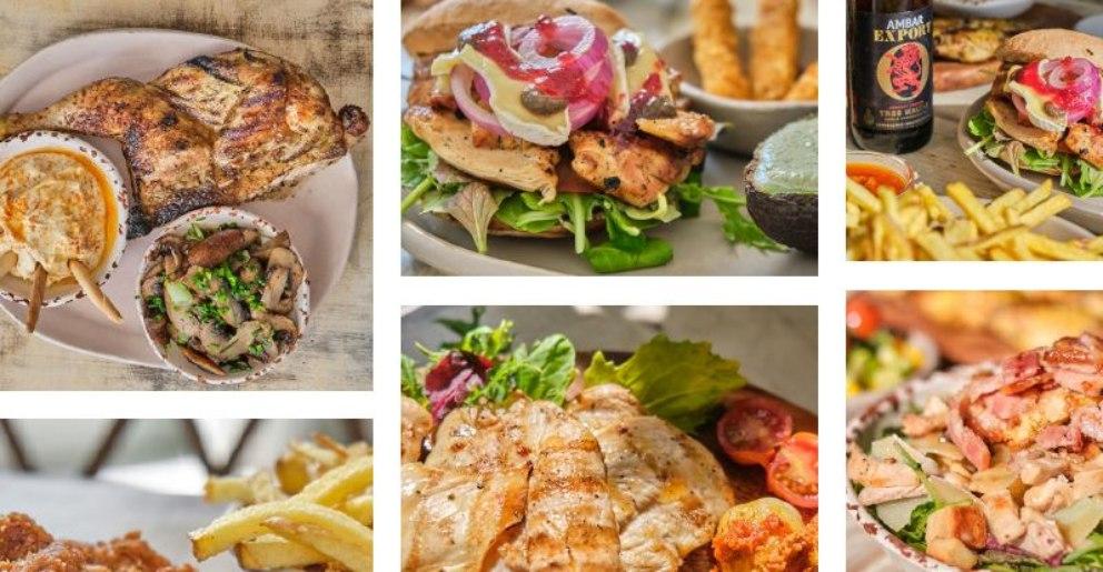 Restaurantes donde el pollo es protagonista