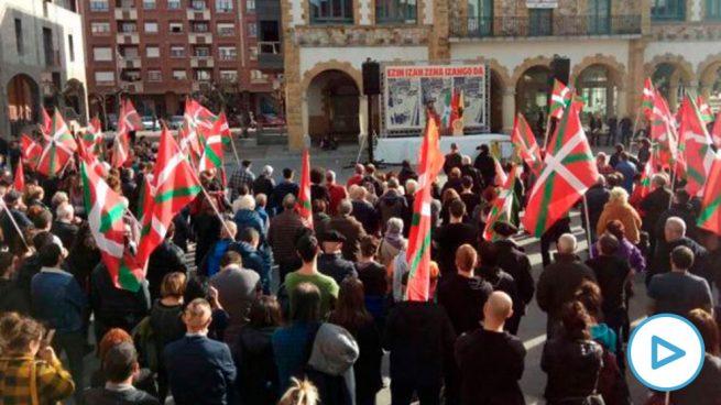 Víctimas del terrorismo piden que se prohíban las concentraciones proetarras convocadas este domingo